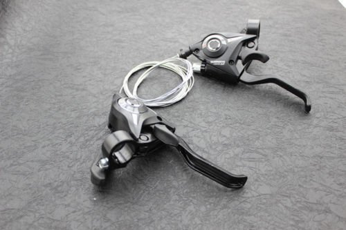 REAMTOP New MTB Bicycle Bike 3 x 7 Speed Shift/Shifter Brake Lever Combo by REAMTOP (Image #5)