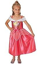 Rubies Disfraz clásico de princesa Disney con lentejuelas, para niños
