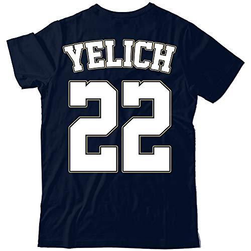 Yelich 22 Brewers Baseball Players Fielder Home Run Jersey Back Customized Handmade T-Shirt Hoodie/Long Sleeve/Tank Top/Sweatshirt