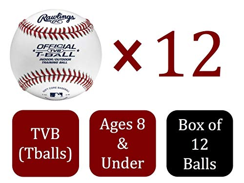 Olb3bag12 Bag Of 12 Rawlings Official League Recreational Use Baseballs