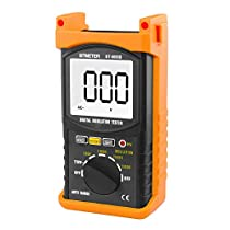 Digital Insulation Resistance Tester, BTMETER BT-6688B Megohmmeter Earth Groud Megaohm Meter 1MΩ-200GΩ ohms Megger, High Voltage to 5000V Tester