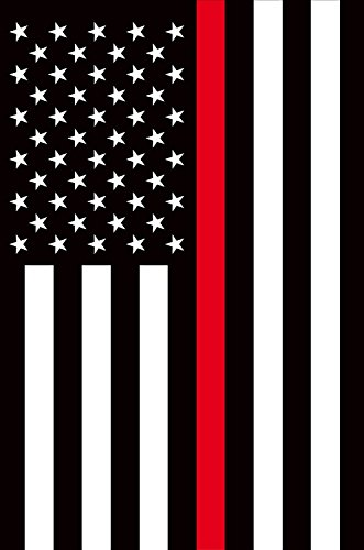 Briarwood Lane Thin Red Line House Flag Firefighter Patriotic 28