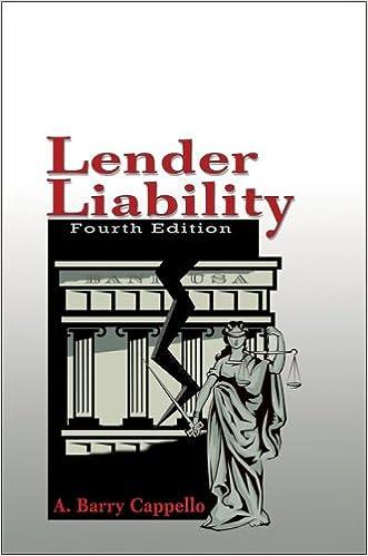 Lender Liability | 5th Edition