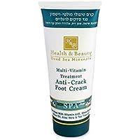 Health & Beauty Dead Sea Minerals - Multi Vitamin Treatment Anti Crack Foot Cream 180ml