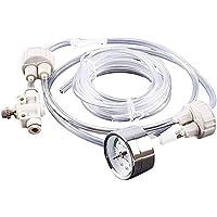 LLC Integral DIY CO2 Generador de CO2 Kit de sistema de CO2 pro tubo de válvula de calibre de botella tapa D201 para…