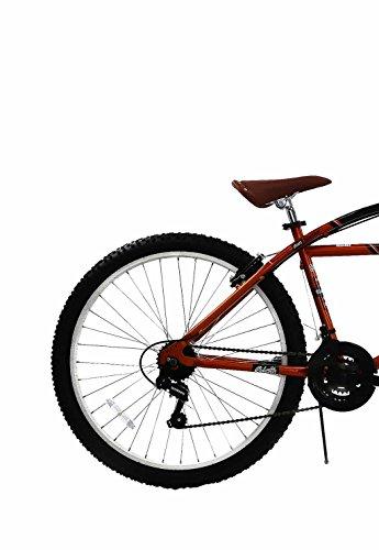Spratly Brands 27.5 Columbia Klunker Mountain Bike - Black/Red/Brown by Spratly Brands (Image #1)