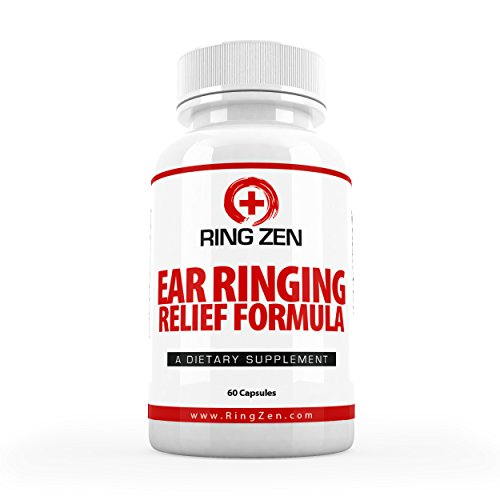 #1 Rated RingZen – Tinnitus Relief to Stop Ringing Ears. The Top Rated All Natural Tinnitus Treatment for Ringing in the Ears with Citrus Bioflavonoids and More for Maximum Ear Ringing Relief.