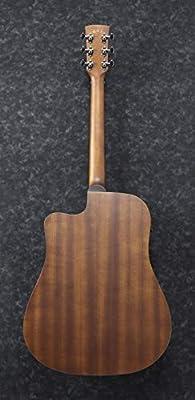Ibanez PF12MHCE-OPN Guitarra electroacústica, poro abierto natural ...