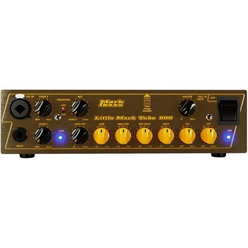 - Markbass Little Mark Tube 800 Bass Amp Head