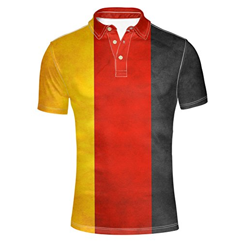 Tri Color Pique Polo - Upetstory Men's Fashion Polos Shirt Tri-Color Stitching T-Shirt Casual Summer Short Sleeves