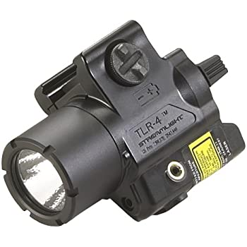Streamlight 69242 TLR-4 Rail Mounted Tactical Light with Red Laser for H&K USP Full Size Handguns