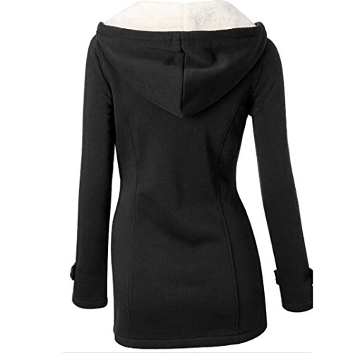 FAPIZI--Women-Coat--Fashion-Women-Windbreaker-Outwear-Warm-Wool-Slim-Long-Coat-Jacket-Trench-S-Black