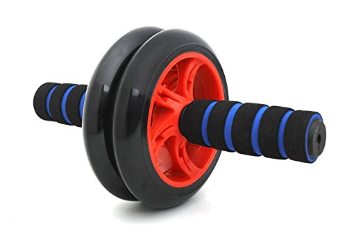 Abdominal Rad Männer Bauchmuskeln Fitnessgeräte Hause Anfänger Authentische Damen Sport Bauch Push-ups Roller (Farbe     4)