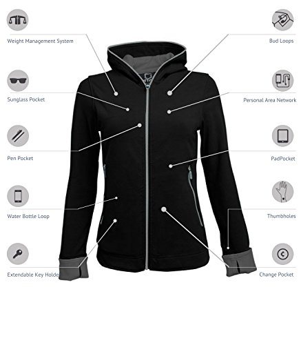 SCOTTeVEST Chloe Glow - 18 Pockets - Travel Clothing, Pickpocket Proof MDN M