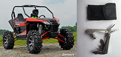 Bundle 2 items: SuperATV Artic Cat Wildcat Trail Sport Lift Kit - 2-3 Inch Adjustable and FREE Unhinged ATV Multi-Tool by SuperATV.com (Image #5)