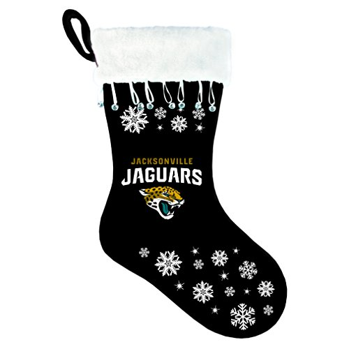NFL Jaguars Snowflake Stocking
