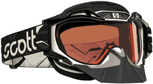 Scott Sports ProAir Snowcross Goggles (White Frame/Rose Lens) - Scott Voltage Pro Air