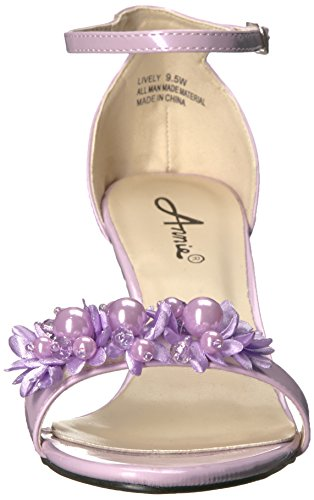 Annie Zapatos Mujeres Lively W Vestido Sandalias Lila