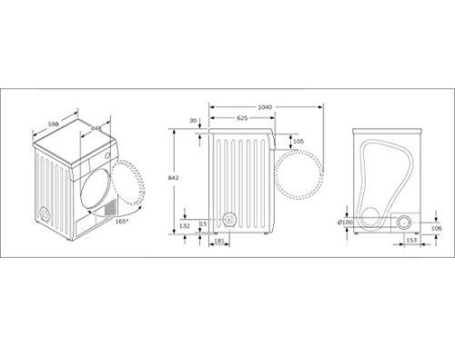 Bosch Maxx 7 sensitive Independiente Carga frontal 7kg C Blanco ...