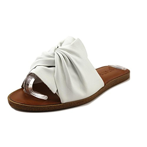 1. State Chevonn Women US 8.5 White Slides Sandal