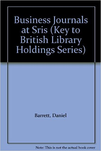Book Business Journals at Sris (Collected papers series)