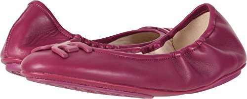 Sam Edelman Women's Florence Mulberry Pink Nappa Luva Leather 9 W (Mulberry Leather Collection)