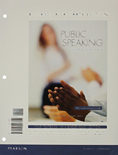 Public Speaking: Finding Your Voice, Books a la Carte Edition Plus NEW MyLab Communication with Pearson eText -- Access Card Package (10th Edition)