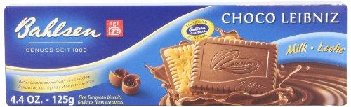 Bahlsen Leibniz Milk Chocolate Cookies, 4.4-Ounce Boxes (Pack of 12)