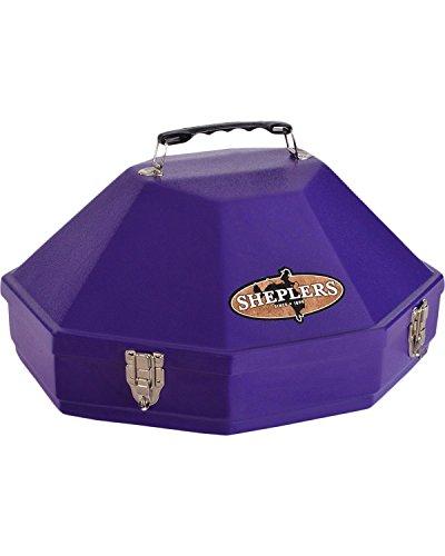 Hammer Plastics Unisex Hard Shell Single Hat Can Purple One Size (Western Hat Plastic)