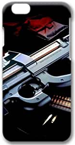 Automatic Rifle and Clip Apple iPhone 6 Plus Case, 3D iPhone 6 Plus Cases Hard Shell Cover Skin Casess