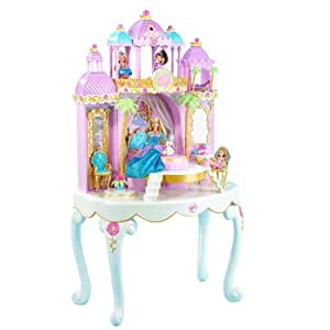 Amazon Com Mattel Barbie Island Princess Magical Castle