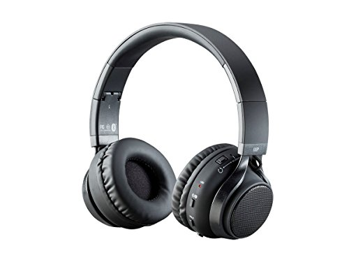 Monoprice 2-in-1 Bluetooth Wireless Headphones with External Speakers - (115276)