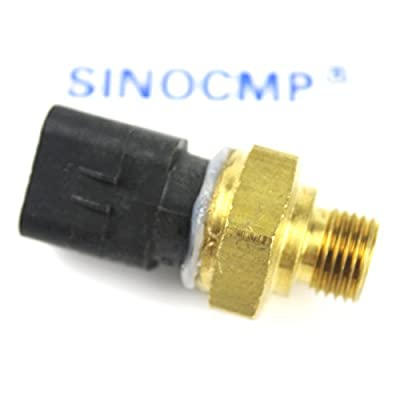 SINOCMP 274-6717 2746717 Oil Pressure Sensor Group GP-Pressure Atmospheric for C12 C15 C27 Excavator Parts, 3 Month Warranty: Automotive