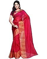 Rajnandini Cotton Silk Saree (Joplsrs1021A_Maroon)