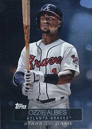 fc74041518b 2019 Topps Stars of the Game Baseball  SSB-63 Ozzie Albies Atlanta Braves  Baseball