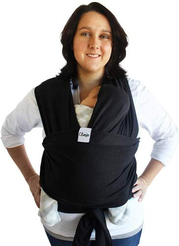 25d096d3dbd Baby Wrap Carrier Hands Free – Breathable Soft and Stretchy Baby Sling  Carrier