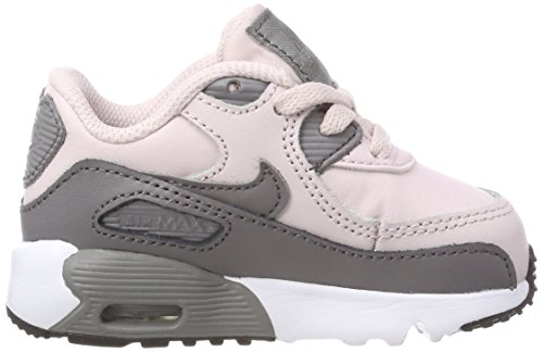 Nike Mädchen Air Max 90 Leather (TD) Gymnastikschuhe Pink (Barely Rose/gunsmoke/white/bla 601)