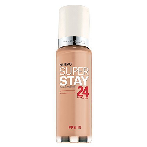 Coverage Foundation - Maybelline New York Super Stay 24Hr Makeup, Pure Beige, 1 Fluid Ounce