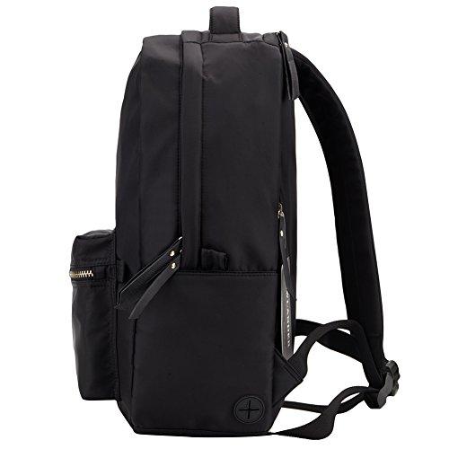 HawLander Nylon Backpack for Women Bookbag for School,Medium Size,Lightweight