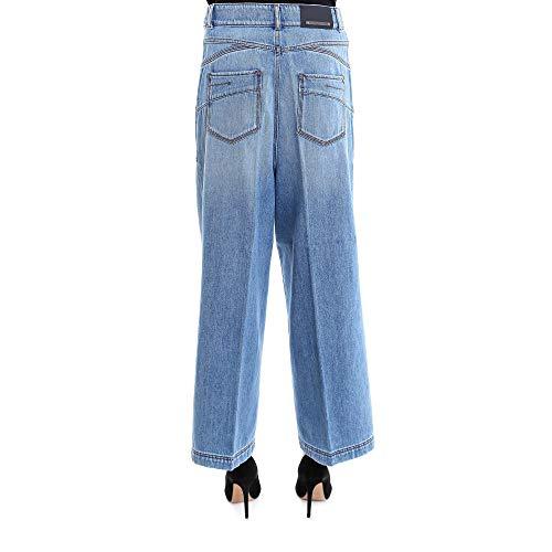 Azzurro Jeans 71811687000009 Donna Sportmax Cotone In6T6dxf