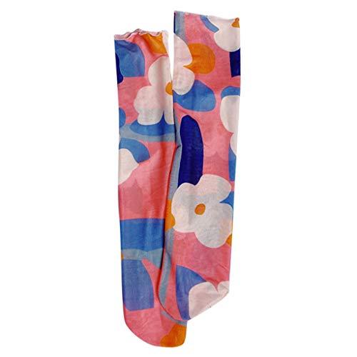 (Tronet Slipper Socks/Women's Casual Spring and Summer Printing College Wind Socks Breathable Half Socks)