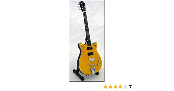 MALCOLM YOUNG Miniature Guitar AC//DC with Guitar Pick