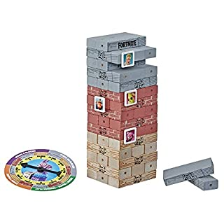 Hasbro Gaming Jenga: Fortnite Edition Game, Wooden Block Stacking Tower Game for Fortnite Fans, Ages 8 & Up
