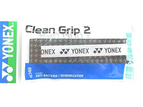 Yonex Clean Grip 2 AC146 Black/Silver