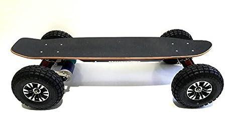 Monopatín eléctrico todoterreno, doble motor 4000w/20Ah: Amazon.es: Deportes y aire libre