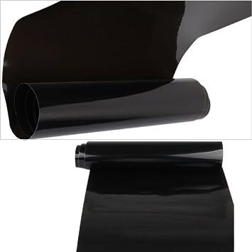 Rapid Teck Scheinwerfer-T/önungsfolie Schwarz 2 m x 30 cm