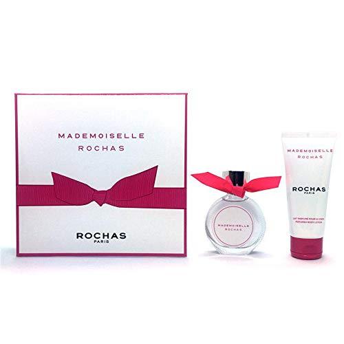 Rochas Rochas Mademoiselle Eau de Toilette 50 ml + Leche Corporal 100 ml - 150 ml: Amazon.es