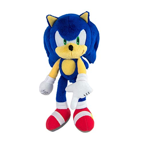 Modern Sonic Plush Toy, Blue