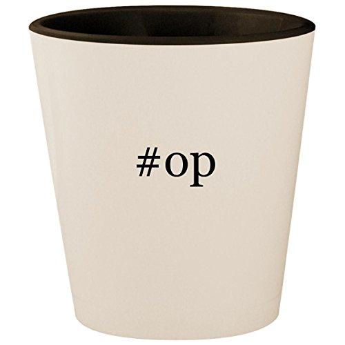 #op - Hashtag White Outer & Black Inner Ceramic 1.5oz Shot - Xbox Controller Modded Aimbot 360