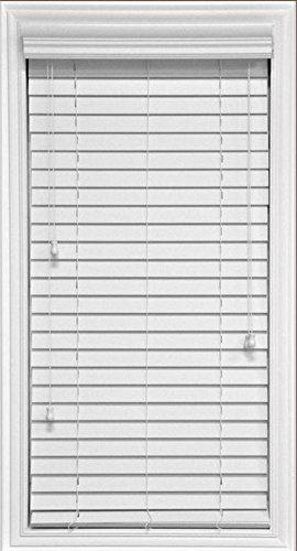 Amazon.com: 2 inch Premium Elite Horizontal Faux Wood Blinds-Inside ...